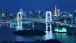 Tokyo Bay Time lapse