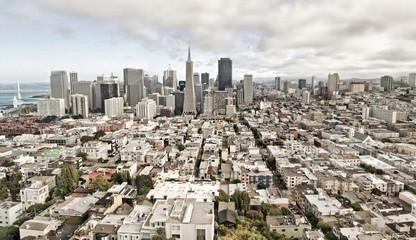 View of San Francisco, USA