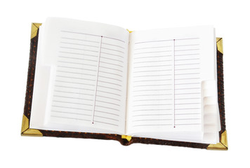 openning notebook for text