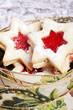 Spitzbuben Marmeladenplätzchen