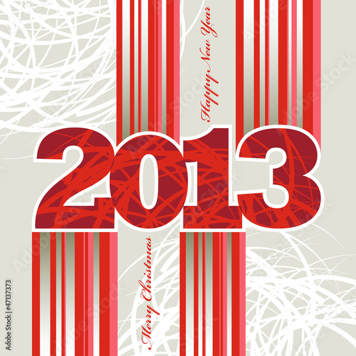 New Year 2013 Stripes