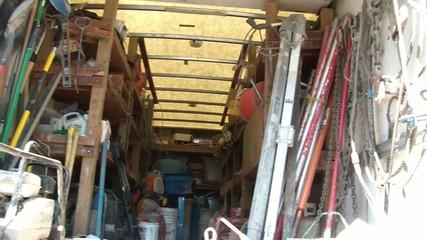 Construction Tools Truck Pan