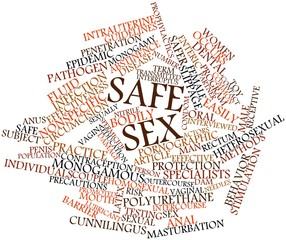 Word cloud for Safe sex