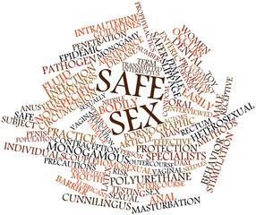 Word cloud for Safe sex