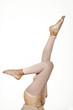 Legs of a young ballerina