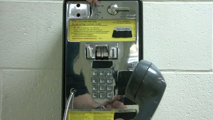 Dialing Payphone - Making Phone Call