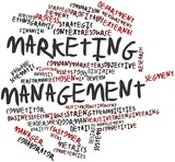 Word cloud for Marketing management