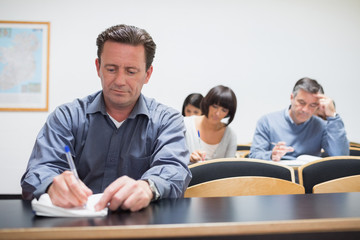 Adults in the classroom
