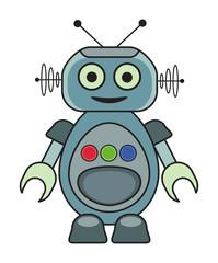 Cute Retro Robot