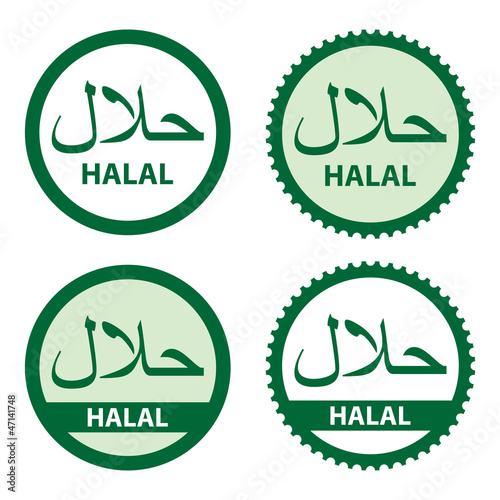 Halal Product Labels