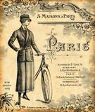Fond bicyclette 1900