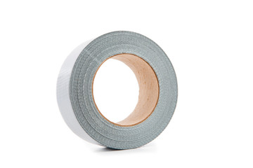 Unrolled adhesive tape