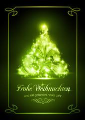 Christmas card, Weihnachtskarte