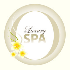 Luxury Spa Background Design