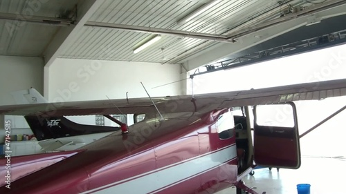 Maroon Airplane Rear Pan