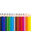 Crayons de couleur horizontal