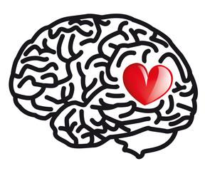 amour Coeur cerveau