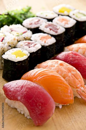 Fototapeten,sushi,japanese,essen,fisch