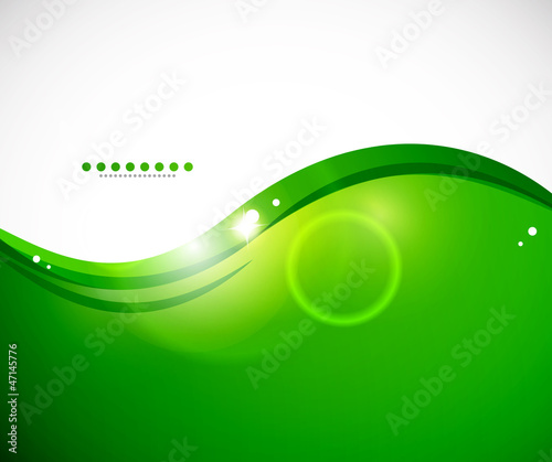 Detailed green abstract background
