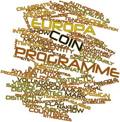 Word cloud for Europa coin programme