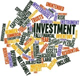 Word cloud for Investment