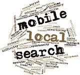 Word cloud for Mobile local search