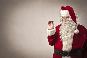 Writing Santa Claus