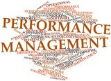 Word cloud for Performance management