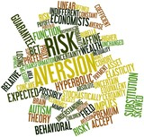 Word cloud for Risk aversion