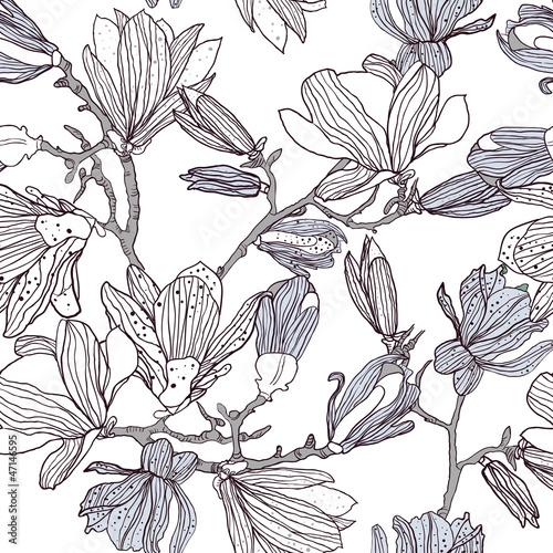 Naklejka Kwiatowy tekstury