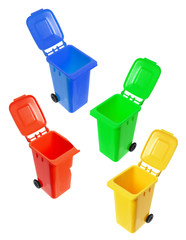 Miniature Garbage Bins