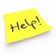 Notizzettel - Help!