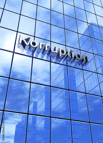 Blaue Fassade - Korruption 2