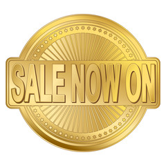 Sale Gold Badge