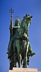Statue of Saint Stephen, Fishermen's Bastion, Budapest