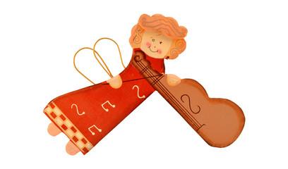 Ángel músico