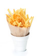 A serving of french fries.