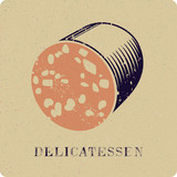 Mortadella delicatessen