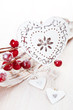 Christmas decorations with a heart