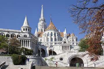 Fisherman's Bastion in Budapest