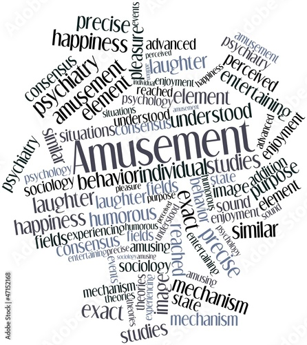 Word cloud for Amusement