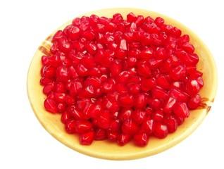 pomegranate (Punica granatum) seeds