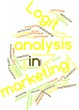 Word cloud for Logit analysis in marketing