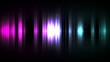 Gradation of purple to blue lines