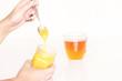 Tee mit Honig
