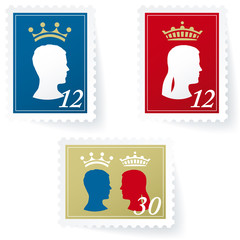 kings stamps