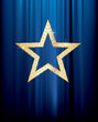 diamond blue star