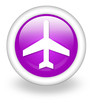 "Violet Icon ""Airport / Airplane"""