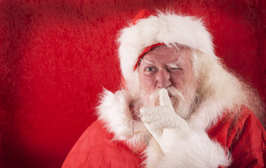 Santa Claus wants to surprise kids