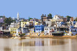 View of the City of Pushkar, Rajasthan, India.